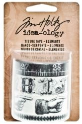 TH93068 Tim Holtz® Idea-ology™ Tissue Tape - Elements DISCONTINUED